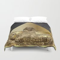 art history Duvet Covers featuring History Framed. by Oeuvre