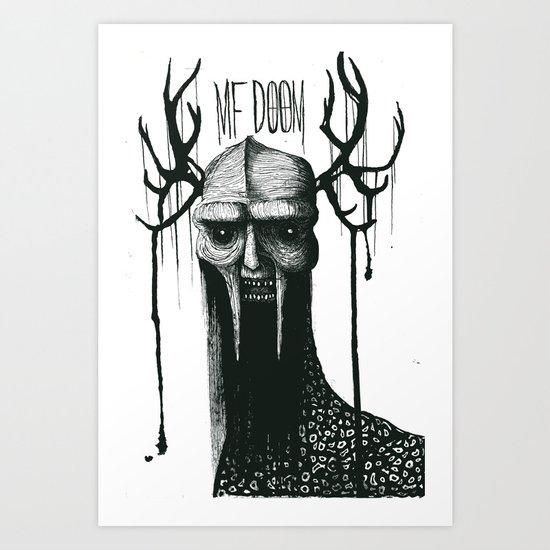 MF DOOMononoke Art Print