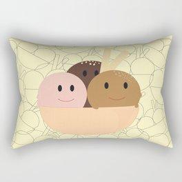 Happy Bol Rectangular Pillow