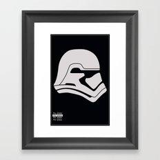 FN-2003 Stormtrooper profile Framed Art Print