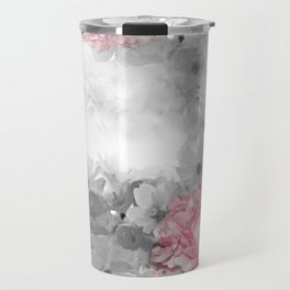 ROSES PINK WITH CHERRY BLOSSOMS Travel Mug