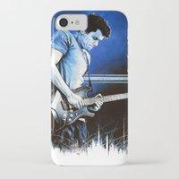 john mayer iPhone & iPod Cases featuring John Mayer Blues by ChrisGreavesCreative