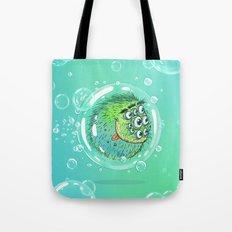 Bacillus B0b on bubble-transport Tote Bag