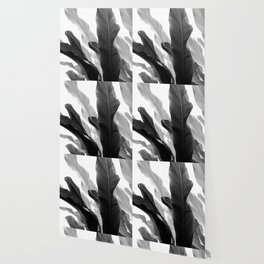 Banana Leaves Jungle #3 #tropical #decor #art #society6 Wallpaper