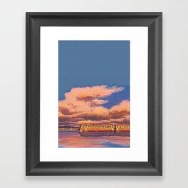 Only Love Can Break a Seal  Framed Art Print