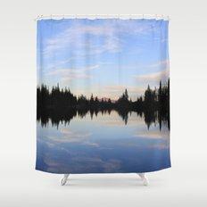 Salmon Lake Shower Curtain