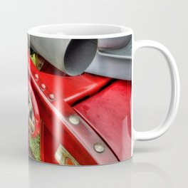 Vintage Car Rear Quarter Coffee Mug