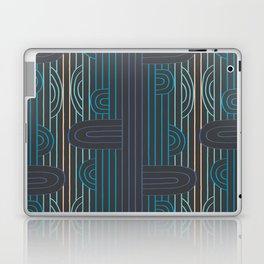 art deco stripe Laptop & iPad Skin