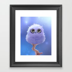 Polar Owl Framed Art Print