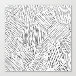 messy Canvas Print
