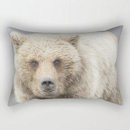 Grizzy Bear One Rectangular Pillow