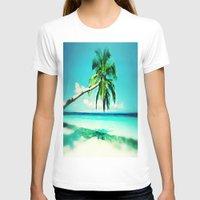 palms T-shirts featuring Palms by Sankakkei SS