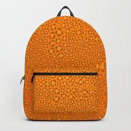 Wild Thing Orange Leopard Print Backpack