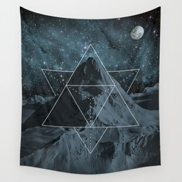 Masterpiece - Blue moon Wall Tapestry