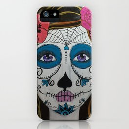 Day of the Dead Girl1 iPhone Case