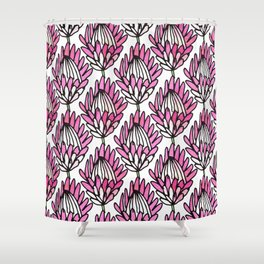 Protea Pink #homedecor Shower Curtain
