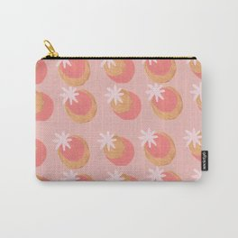 Peachy Star design Carry-All Pouch