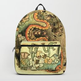 Aztec Collection: The Seven Caves of Chicomoztoc Backpack