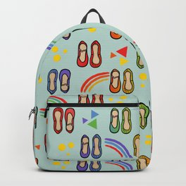 ballet and rainbows Backpack