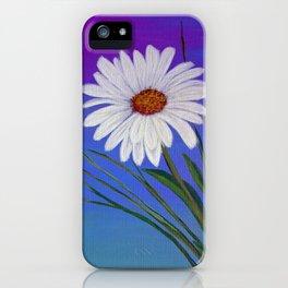 White daisy -2 iPhone Case