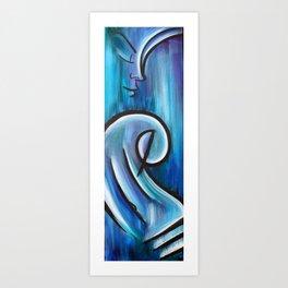 Water Woman 1 Art Print
