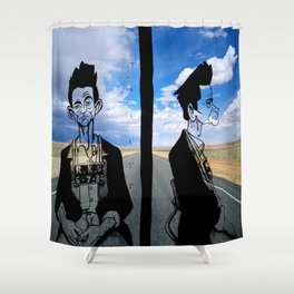 jhonny Cash Shower Curtain
