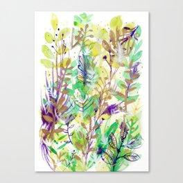 Leaves texture 02 Canvas Print