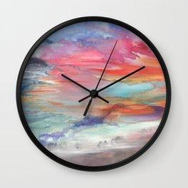 Stormcoming Wall Clock