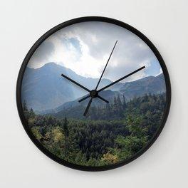 Hikers Paradise Wall Clock