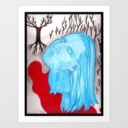 Ghost of a Murder Art Print