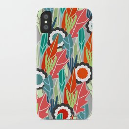 Floral jungle iPhone Case
