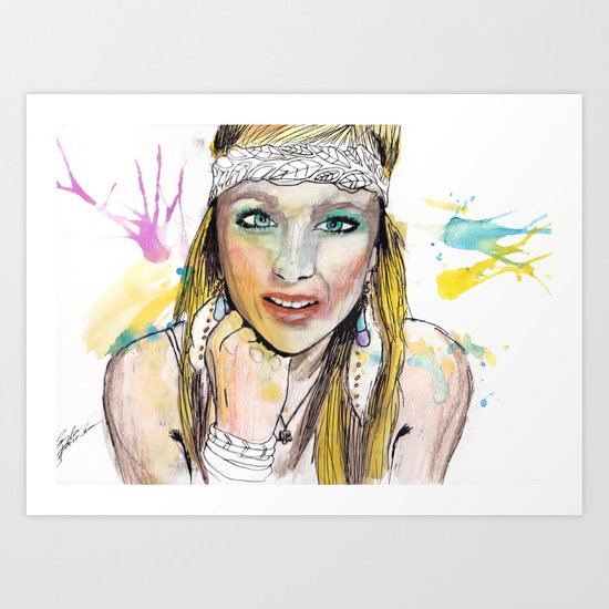 Payton 1 Art Print