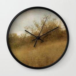 The Magical Oak Tree Wall Clock
