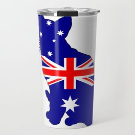 Australian Flag - Cat Travel Mug