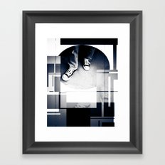 Converse Framed Art Print