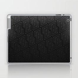 Optical illusion - Impossible Figure - Balck & White Pattern Laptop & iPad Skin