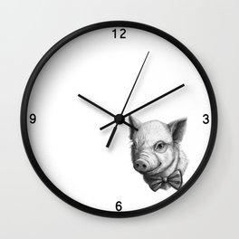 BowTie Piglet G136 Wall Clock