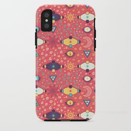 Cosmos Pattern iPhone Case