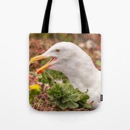 Gull Call Tote Bag