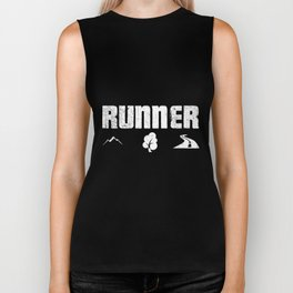 Runner Gift | Mountain Forest Street Sport Running Biker Tank