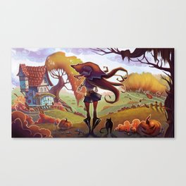 Witchy Days Canvas Print