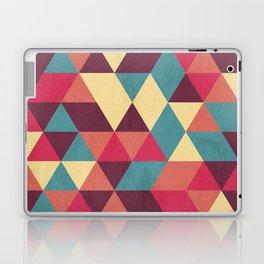 TRIANGLES RED Laptop & iPad Skin