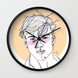 Grayson dolan Wall Clock