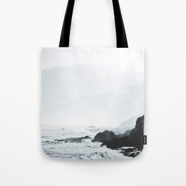 Sea Waves Seascape, Ocean Waves Photography, Sea Coast, Sea Beach Tapestry, Pillow etc Tote Bag