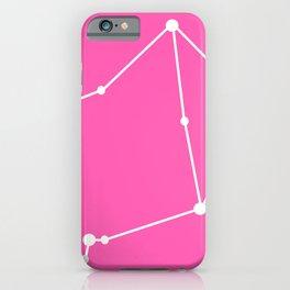 Libra (White & Pink) iPhone Case