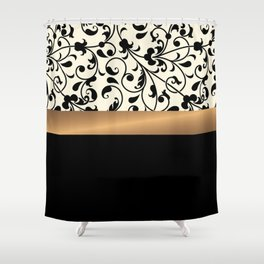 Cute Floral Pattern Shower Curtain