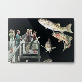 Skyfish Metal Print