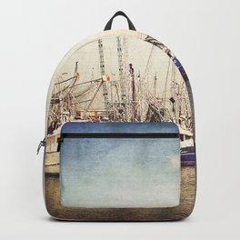 Gulf Coast Shrimp Boats Backpack