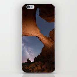 Double Arch in Arches National Park 2 iPhone Skin