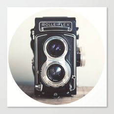 ROLLEIFLEX CAMERA Canvas Print